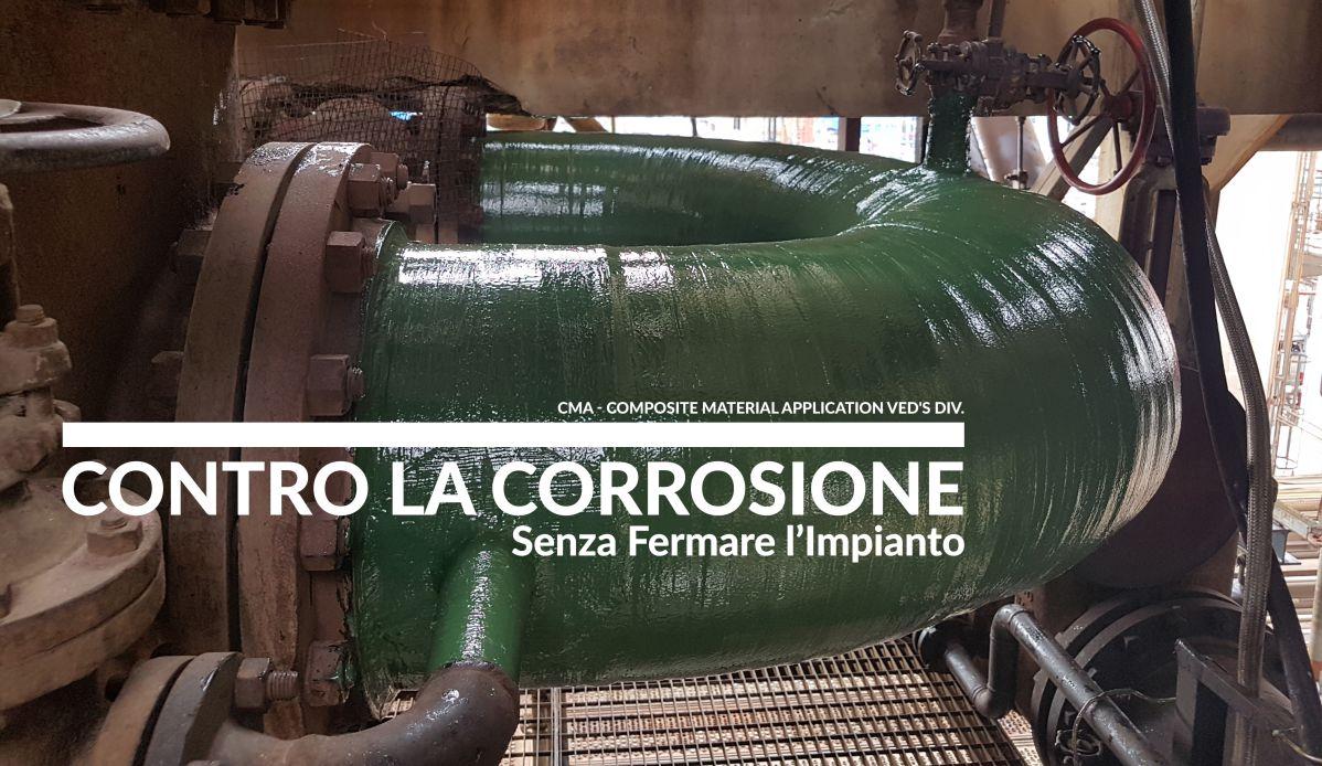 Rinforzo strutturale [SRS] soluzione a sottospessori e rotture per linee in pressione